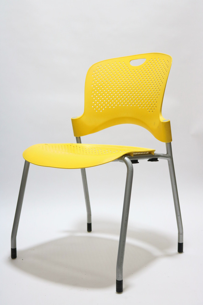 Herman Miller Caper Side Chair Yellow