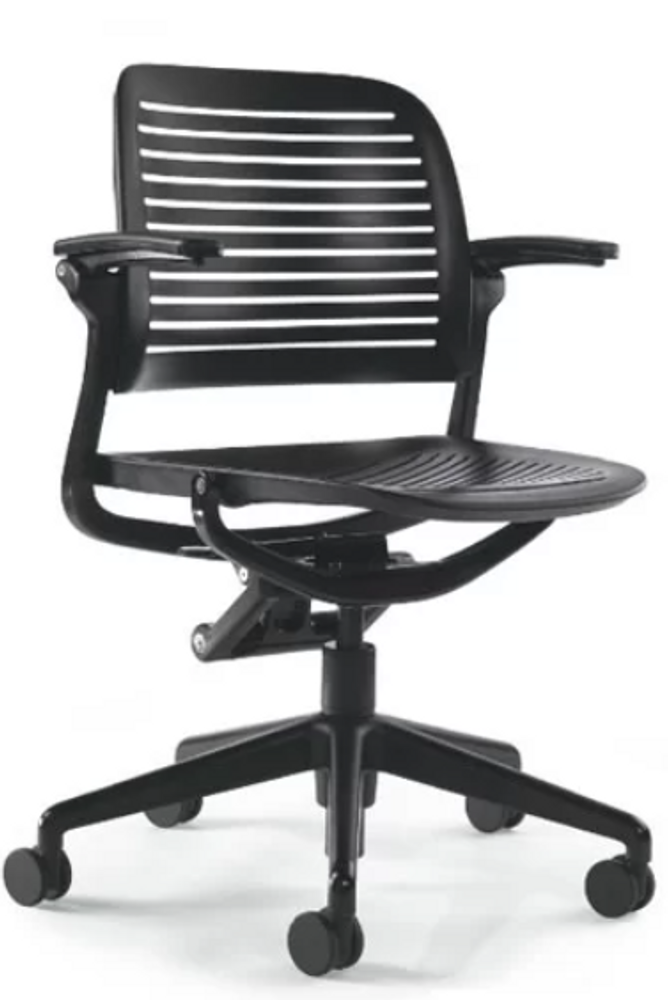 Refurbished Steelcase Cachet Chair in Black