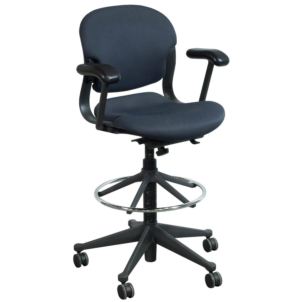 Refurbished Herman Miller Equa Stool Chair in Black Size B