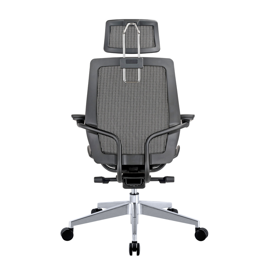 Humanspine Office Chair by Seating Mind in Black Mesh Seat and Back Brand NEW
