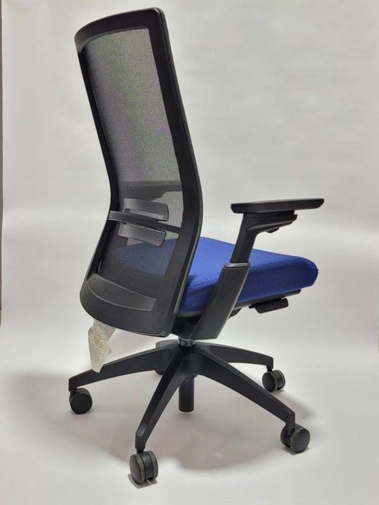 Allsteel Evo Chair, Fully Loaded, + Fully Adjustable Arms