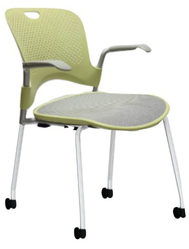 Herman Miller Caper Side Chair Lime