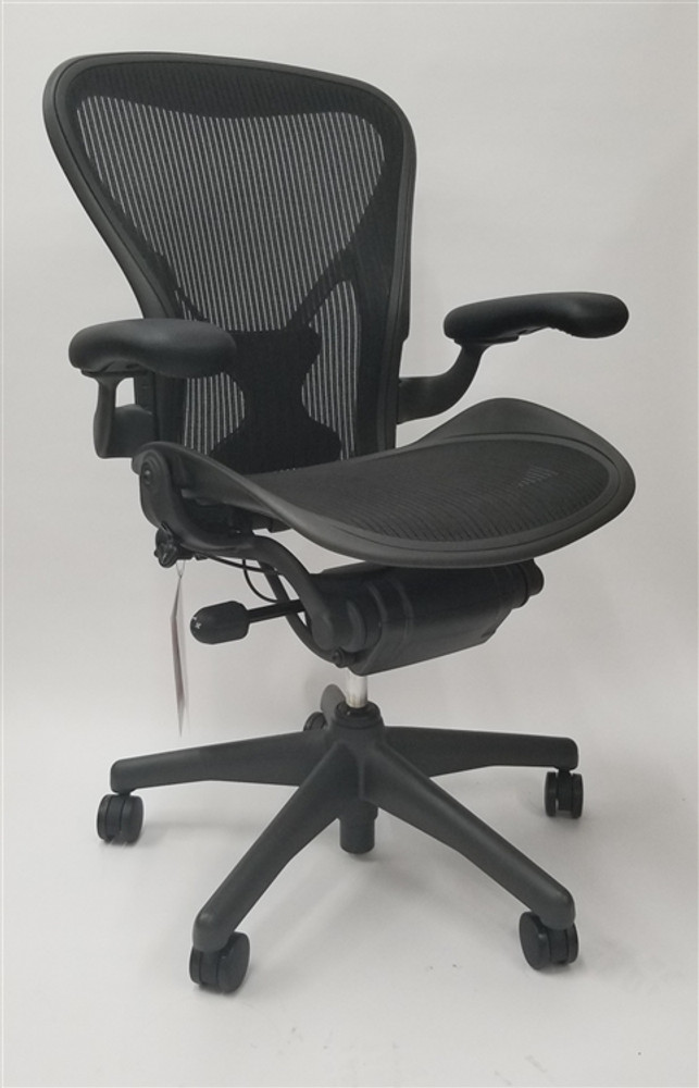 Herman Miller Aeron Chair Size B Or C Basic Model With Posturefit