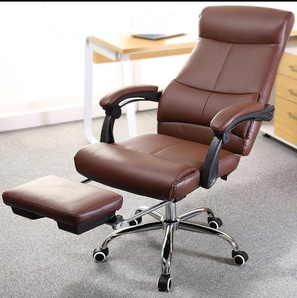 Deluxe High Back Executive Office Chair by Fine Mod