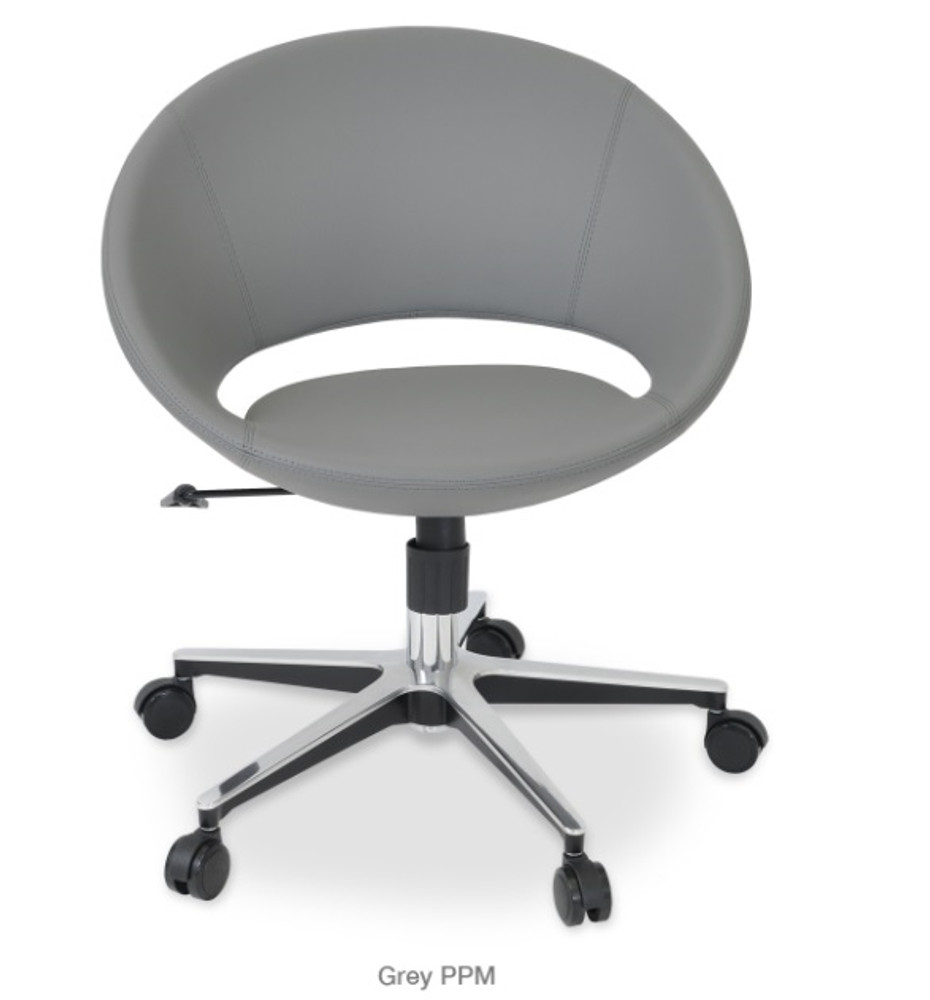 Soho Concept Crescent Office Chair in PPM