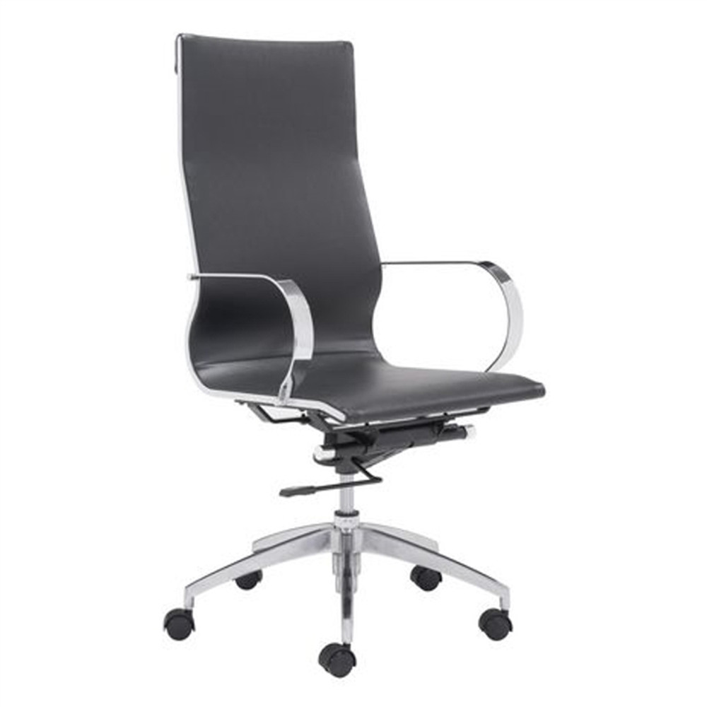 Conference Office Chair High Back, Black by Fine Mod