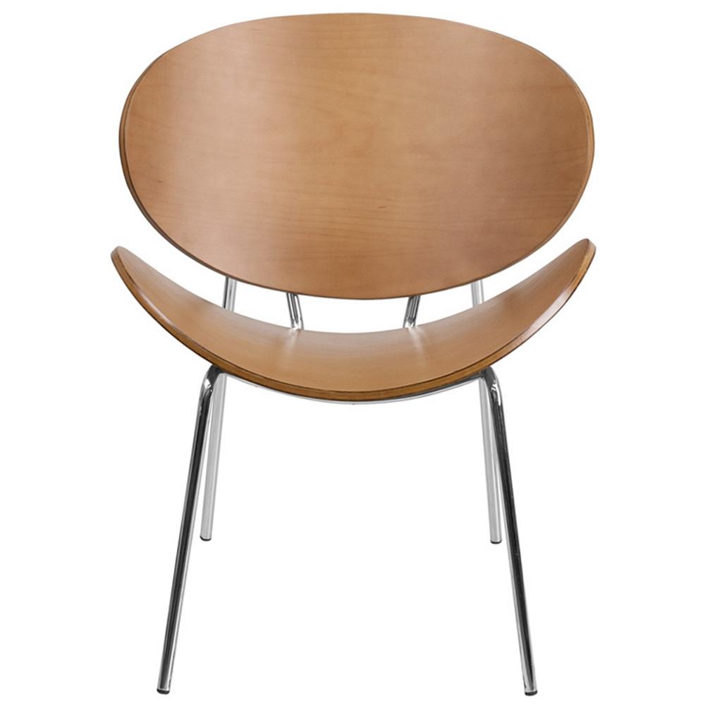 Flash Furniture Beech Bentwood Leisure Side Reception Chair