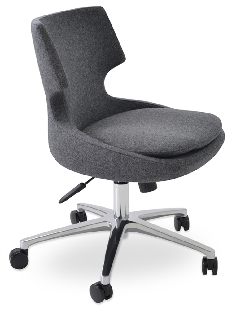 Soho Concept Patara Office Chair in Camira Wool