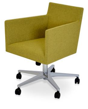 Soho Concept Harput Office Chair in Camira Wool
