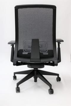 Haworth Very Chair Black Mesh Back Fully Adjustable Model