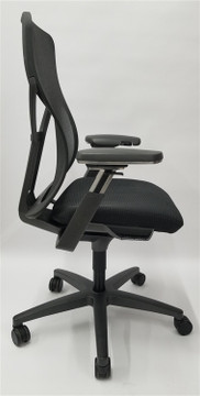 Allsteel Acuity Chair, Fully Loaded, + Fully Adjustable Arms