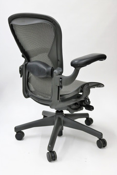 Herman Miller Aeron Chair Fully Featured Size B Gray
