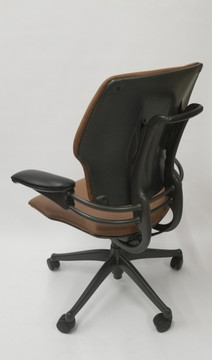 Humanscale Freedom Chair Fully Adjustable Model Light Brown