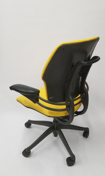 Humanscale Freedom Chair Fully Adjustable Model Yellow