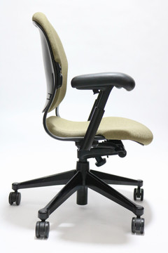 Herman Miller Equa Chair in Gold Fabric Size B