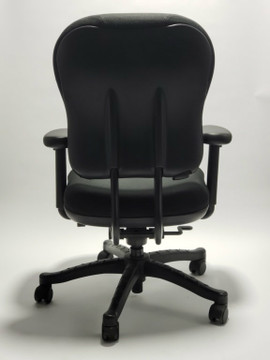 Refurbished Knoll RPM Chair Fully Adjustable Model in Black Fabric