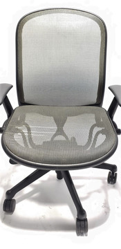 Knoll Chadwick Chair + Adjustable Arms Damaged Seat