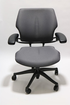 Humanscale Freedom Chair Fully Adjustable Model Gray Fabric