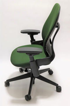 Steelcase Leap Chair V2 Green Fabric