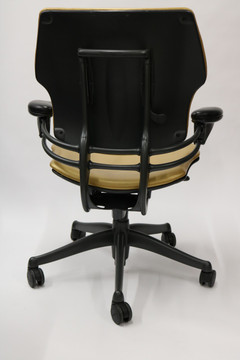 Humanscale Freedom Chair Fully Adjustable Model Gold Leather
