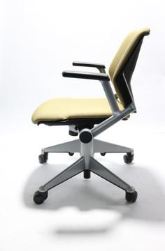 Kart Chair By Steelcase Beige Fabric + Nest Seat