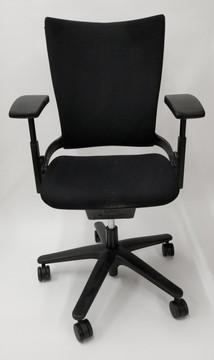 Allsteel Sum Chair Office Task Chair Black Fabric