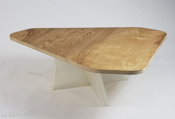 Tribeca Coffee Table Wood Top By ModernPeek
