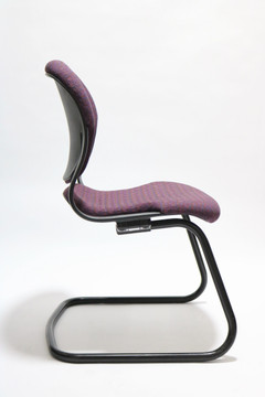 Herman Miller Equa Guest Side Chair Purple Fabric