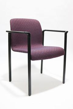 Herman Miller Aside Chair Purple Fabric