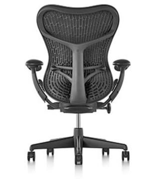 Herman Miller Mirra V2 Chair In Black Flex Back Model Brand New