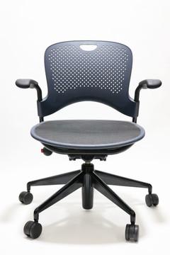 Refurbished Herman Miller Caper Chair in Black Mesh Seat