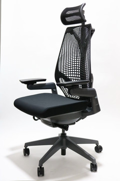 Jest Chair With Headrest by SeatingMind + 4D Adjustable Arms Highly Adjustable Model