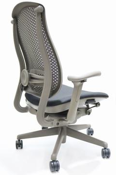 Herman Miller Celle Chair Black Seat + Adjustable Lumbar