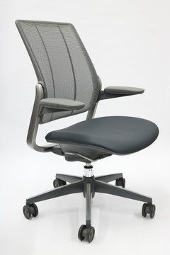 Humanscale Diffrient Smart Office Chair Gray Brand NEW