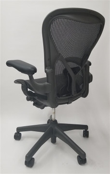 Herman Miller Aeron Chair  Basic with Posturefit Size B (or C)
