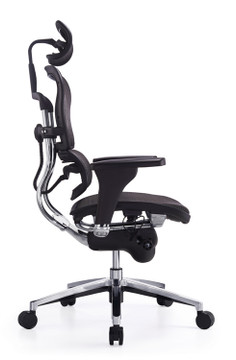 Ergospine Task Chair in Black Mesh Seat and Back by Seating Mind
