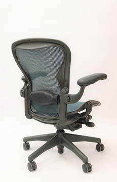 Herman Miller Aeron Chair Fully Featured Size B Jade Green