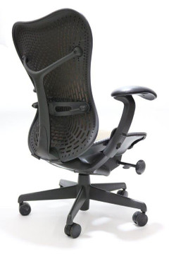 Herman Miller Mirra Chair Brown Mesh back and Brown Mesh Seat
