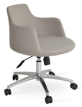 Soho Concept Dervish Office Chair in Leatherette
