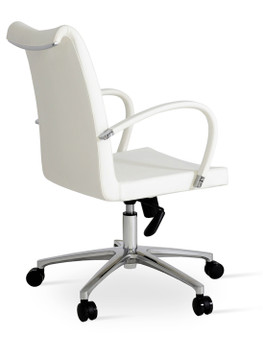 Soho Concept Tulip Arm Office Chair in PPM
