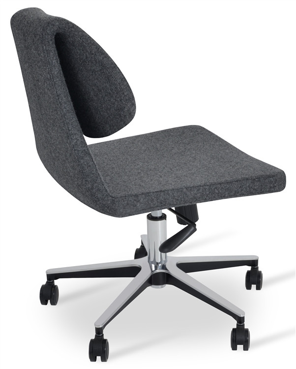 Soho Concept Gakko Office Chair in Camira Wool