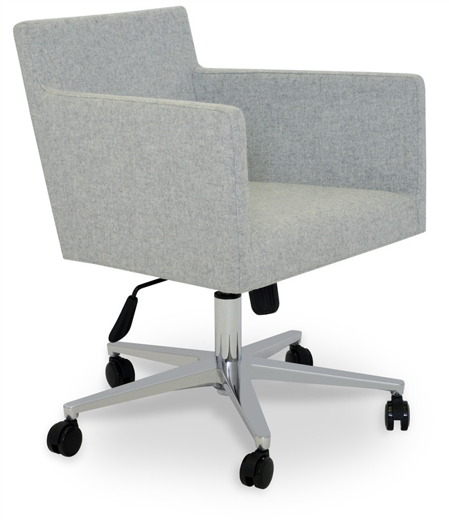Soho Concept Harput Office Chair in Camira Wool