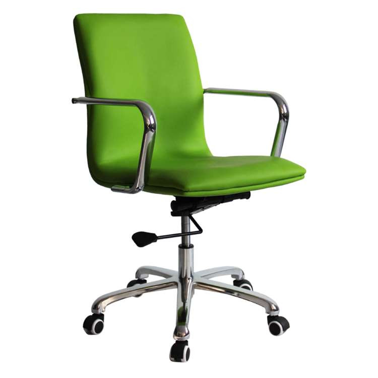 Confreto Conference Office Chair Mid Back, Green by Fine Mod