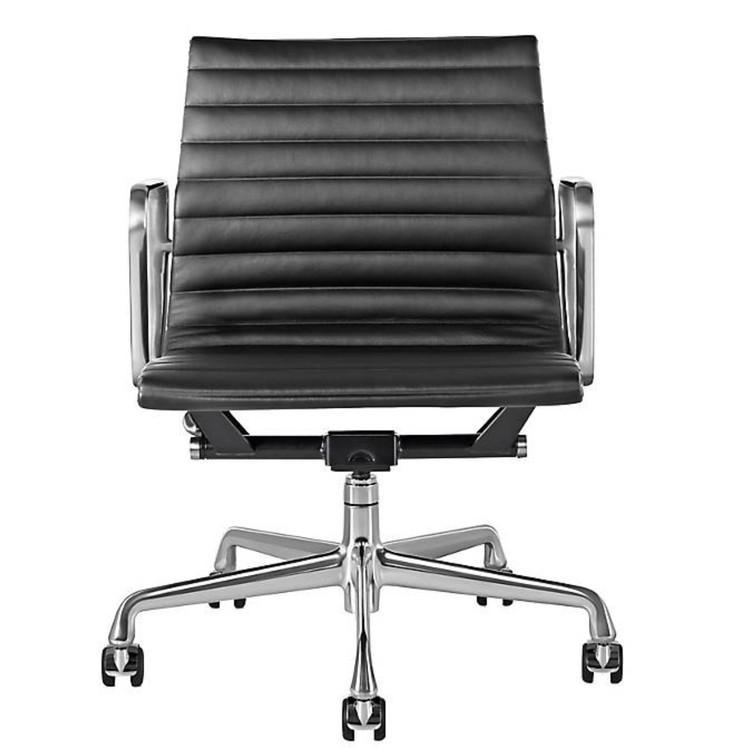 Eames Aluminum Group Management Chair Black