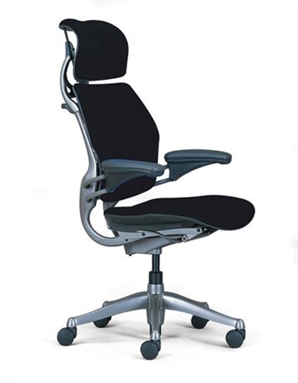 Refurbished Humanscale Freedom Chair Fully Adjustable Model With Headrest BRAND NEW