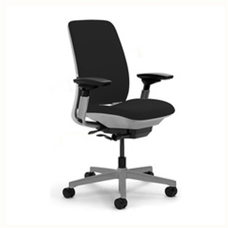 Steelcase Amia Chair Fully High Performance Arms + Titanium Frame
