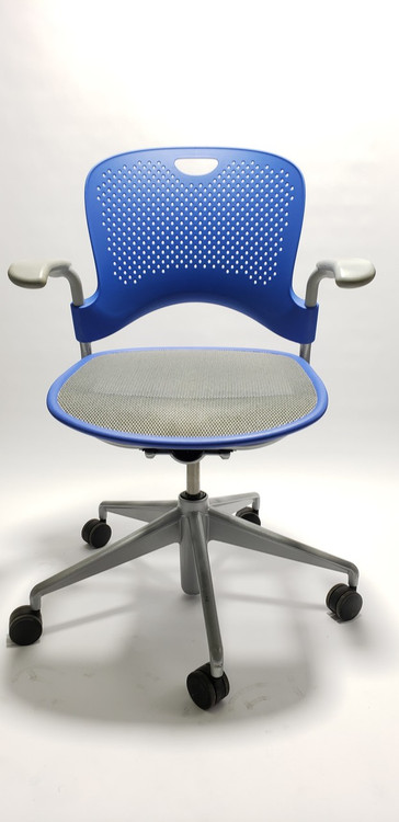 Herman Miller Caper Chair in Blue