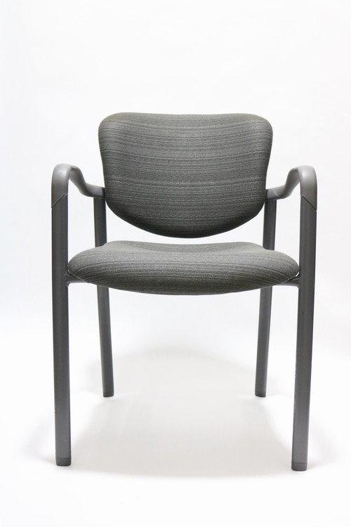 Herman Miller Aside Chair Gray Fabric