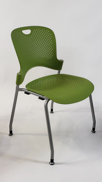 Herman Miller Caper Side Chair in Lime