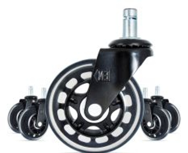 Soft Rollerblade Caster Set Very Smooth Rolling
